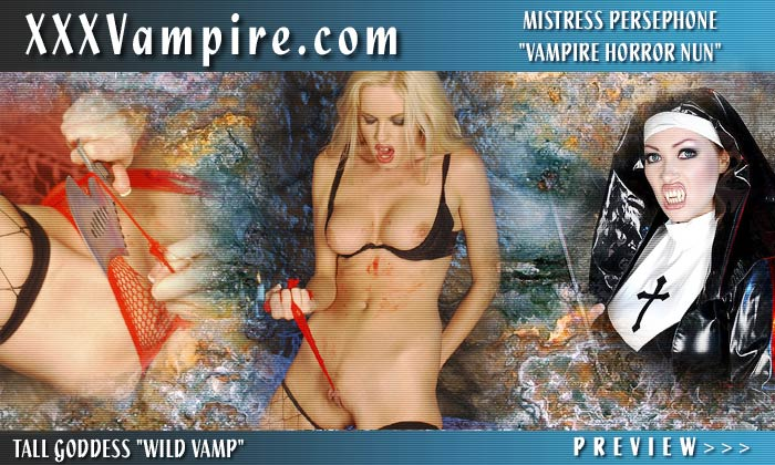 Big Tits Vampire Shay Lynn in Blood Bath